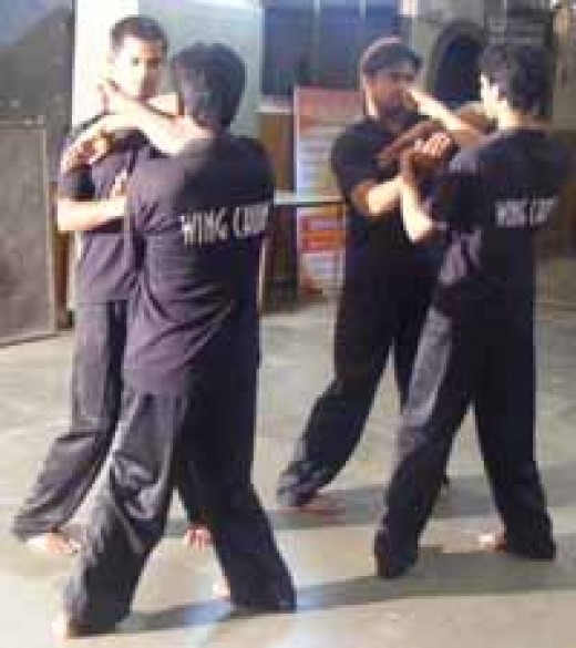 Fig. taken from Indian Wing Chun