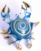 Unidentified crab rendered in artGlass.