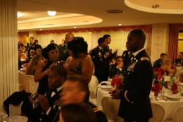 Dinner during the ball