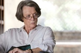 Maggie Smith shines in her transformation from bigot to benefactor as Muriel