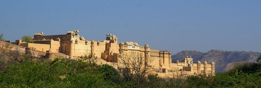 The King's Palace--The Amber Fort