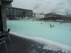 Relaxing in Iceland's Blue Lagoon