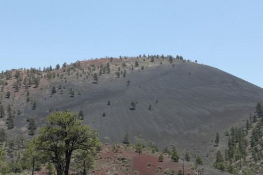 Sunset Crater Volcano Cinder Cone