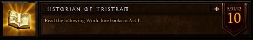 Historian of Tristram