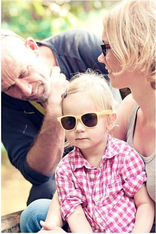 Kids need sunglasses too!