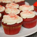 Red Velvet Valentine's Day Cupcakes