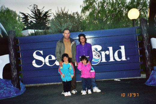 My Family At sea World