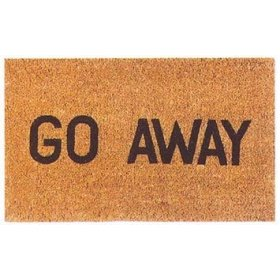 A more assertive door mat.