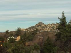 The Pinnacles And The San Bernardino Mountains