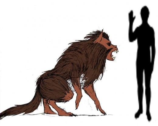 Devil Monkey, although very similar to a werewolf