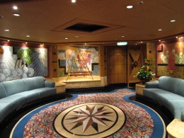 Don't miss out on the shows while on-board the Golden Princess.