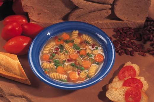 Pasta Sausage and Vegetable Soup