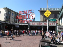 A visit to Pike's Place Public Market at the end of our cruise in Seattle.