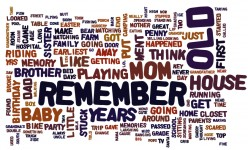 What is your earliest human memory?