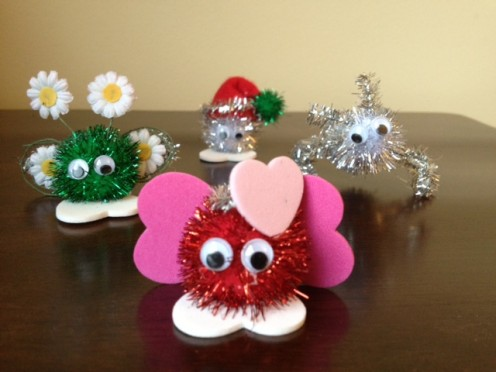 A gang of crafty critters!