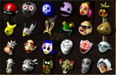 The Masks from Majora's Mask