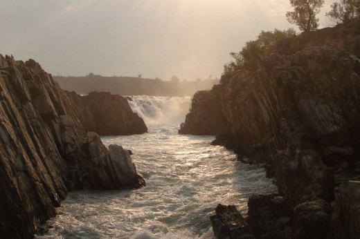 Gorge at River Narmada