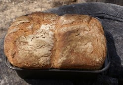 Breadmaking without a breadmaker while traveling