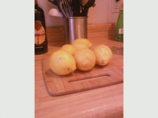 Some nice big lemons