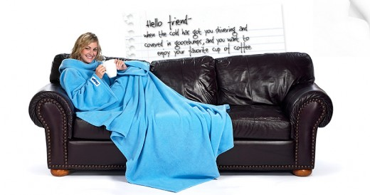 The Slanket in Arctic Blue