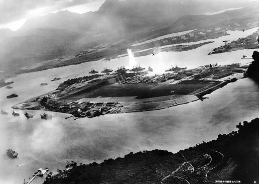 The unprovoked attack on Pearl Harbor brought America into WW II