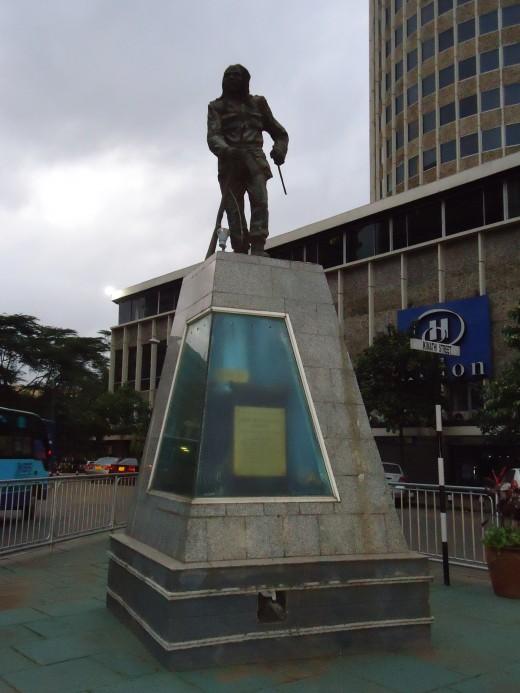 Kimathi Monument