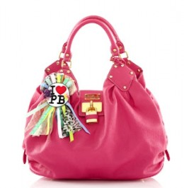 This bag is pretty and  reminds me of the Louis Vuitton Mahina L.