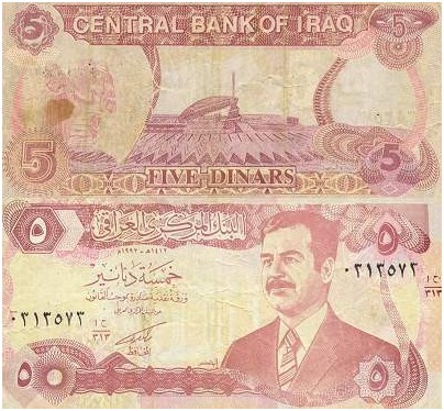 History Of The Iraqi Dinar