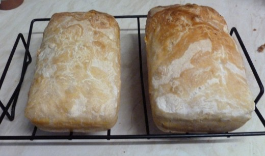 The big challenge is resisting temptation to eat the bread before it has a chance to cool.