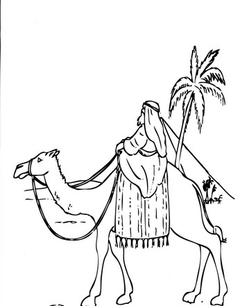 Abraham in the Desert