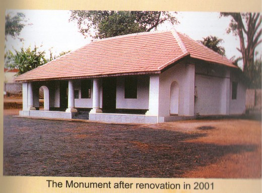 The house where Swami Vivekananda stayed for 9 days in October,1982