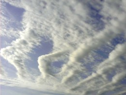 Find shapes in the clouds.