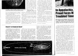 This article discusses the recent discovery by NASA in 1983 of Planet X at the fringes of our solar system.
