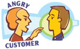 Angry Customer Photo