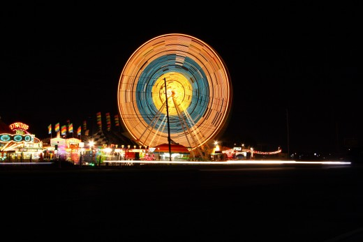 Fairs are off limits for children and young teens by themselves..