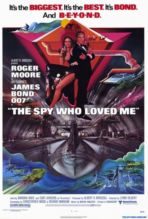 The Spy Who Loved Me (1977) art by Bob Peak