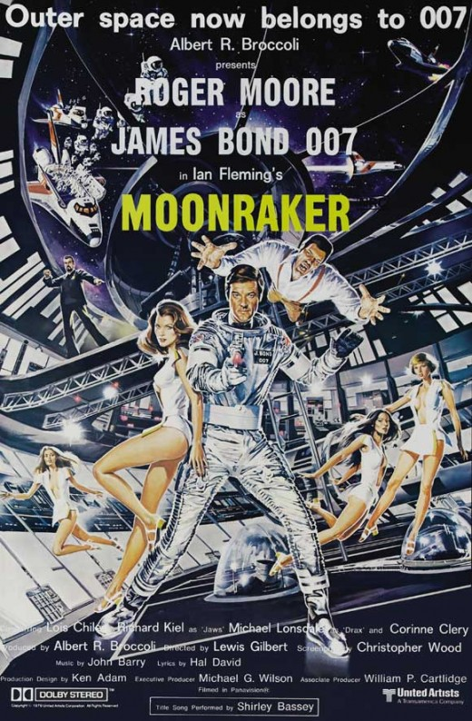 Moonraker (1979) art by Dan Goozee