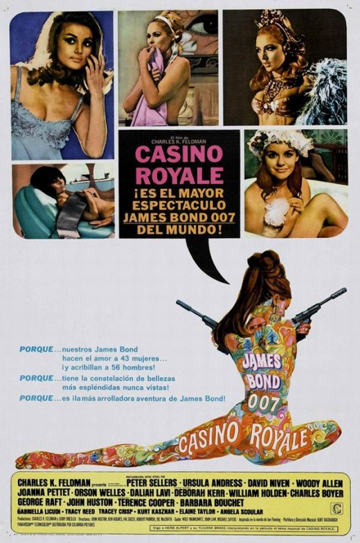 Casino Royale (1967) Spanish poster art by Robert McGinnis