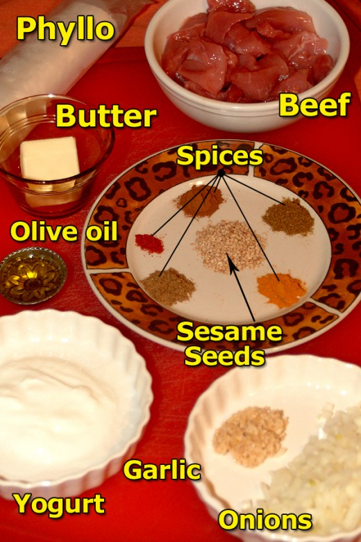 A few Middle Eastern Ingredients and you are on your way to an amazing appetizer!