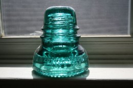 Hemingray glass insulator.