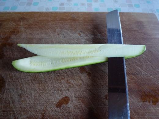 get rid of inside seeds part