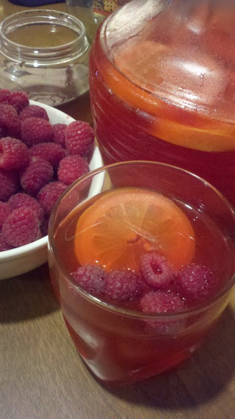 Raspberry Ginger Refresher.