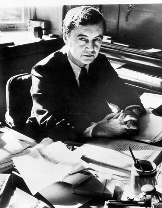 Erving Goffman, author of The Presentation of the Self in Everyday Life