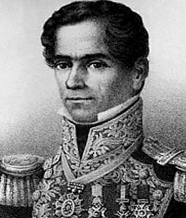 Gen. Santa Ana