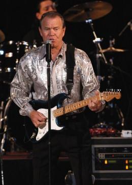 Glen playing guitar, he is still an amazing guitar player!