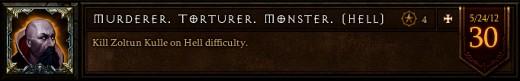 Murderer. Torturer. Monster.