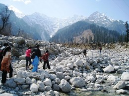 My son at Manali Excursion