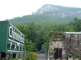 Chimney Rock, the place of real fairy sightings