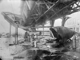 Damage to the Railroad Bridge