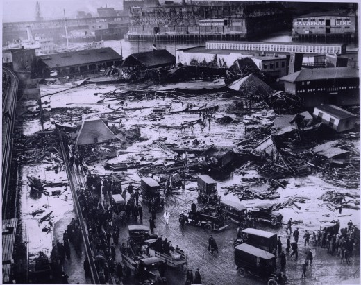 The Aftermath of the Great Molasses Flood